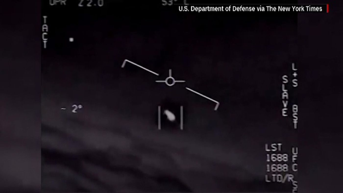 U.S. Navy: Mysterious UFO videos are real