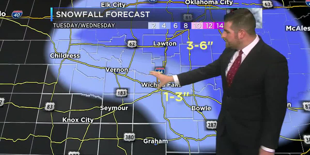 More snow accumulations are expected Tuesday afternoon