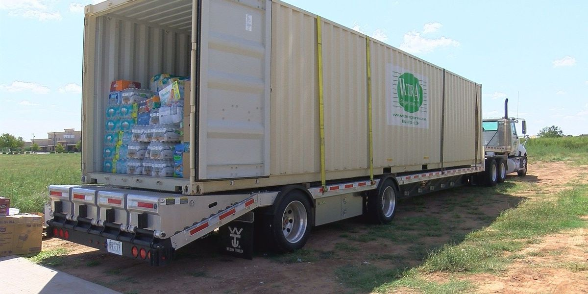 Overflow of donations creating problem in southeast Texas