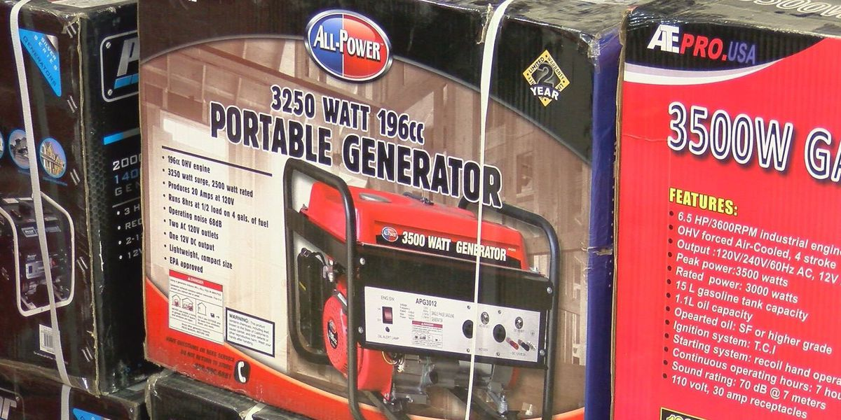 Texas sales tax holiday this weekend for emergency preparation supplies