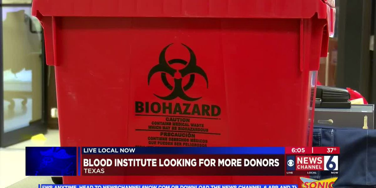Texas Blood Institute in need of donors for holidays