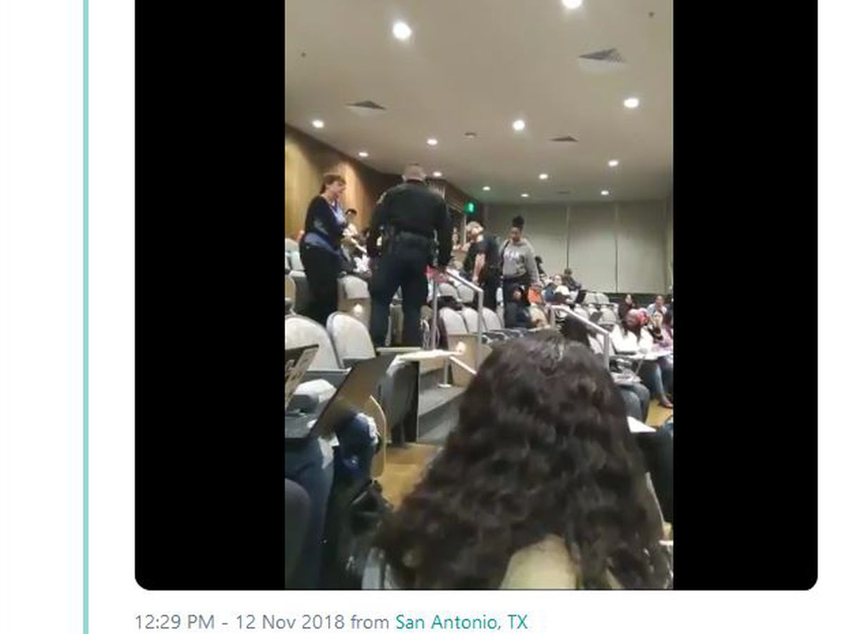 University professor in Texas calls police on black student for putting her feet on chair