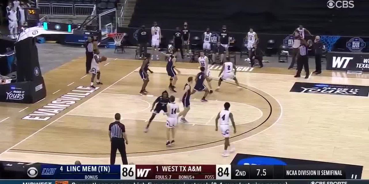 March Madness: NCAA Men's DII West Texas A&M wins on buzzer beater