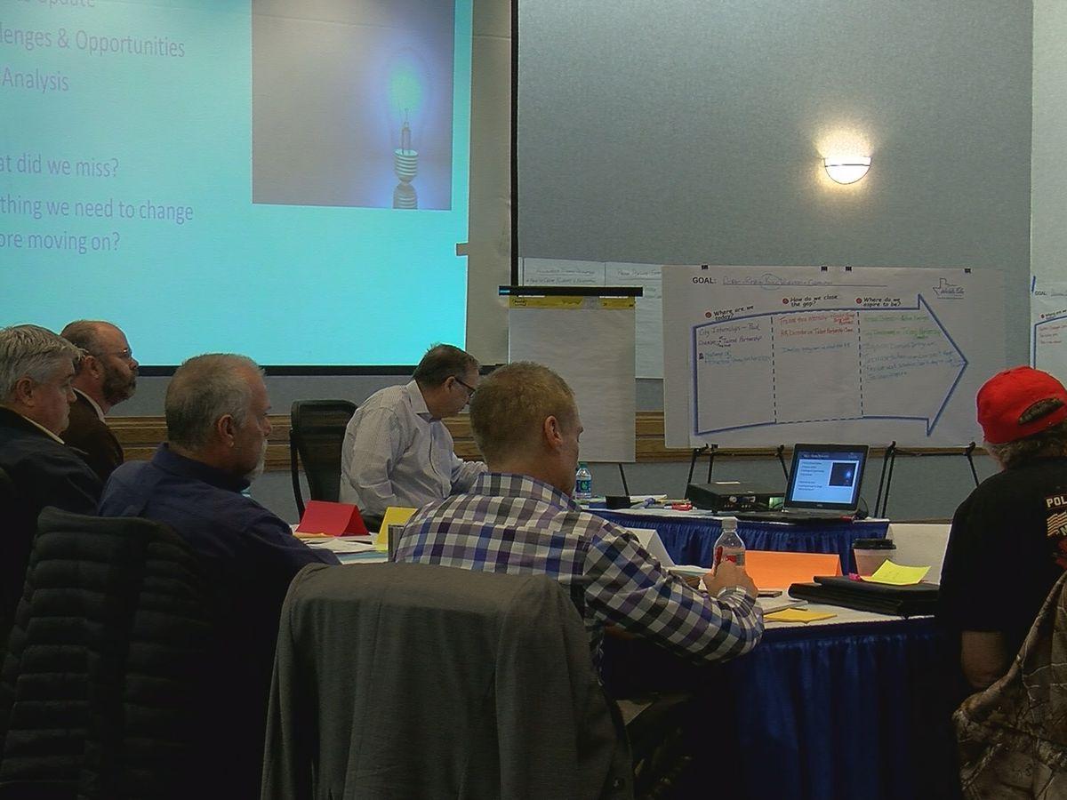 WF city leaders narrow down 2019 strategic plan