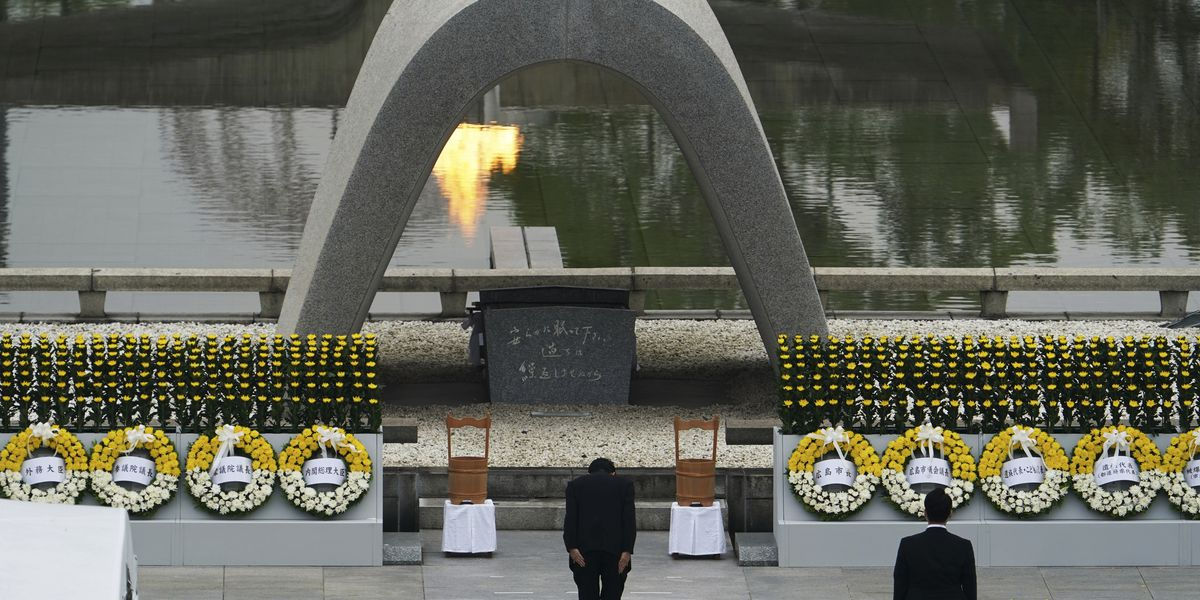 Survivors mark 75th anniversary of world's 1st atomic attack
