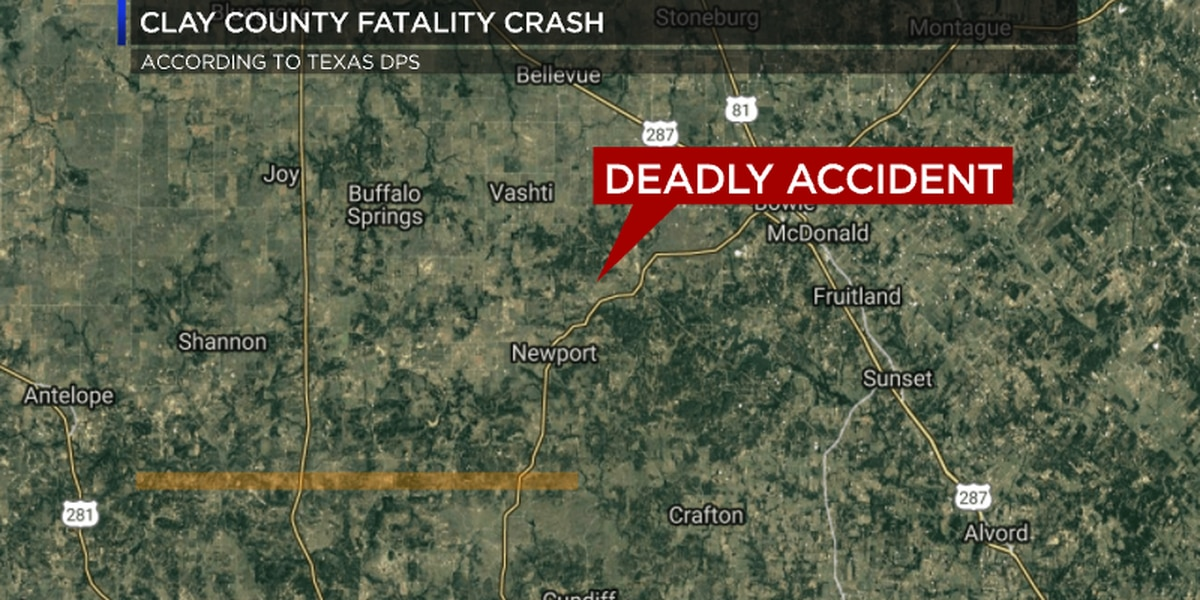 Victims identified in Tuesday morning deadly crash in Clay Co.