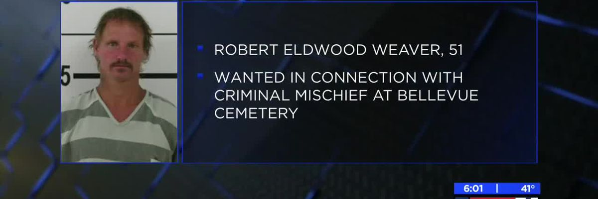 Suspect in incident at Bellevue Cemetery arrested