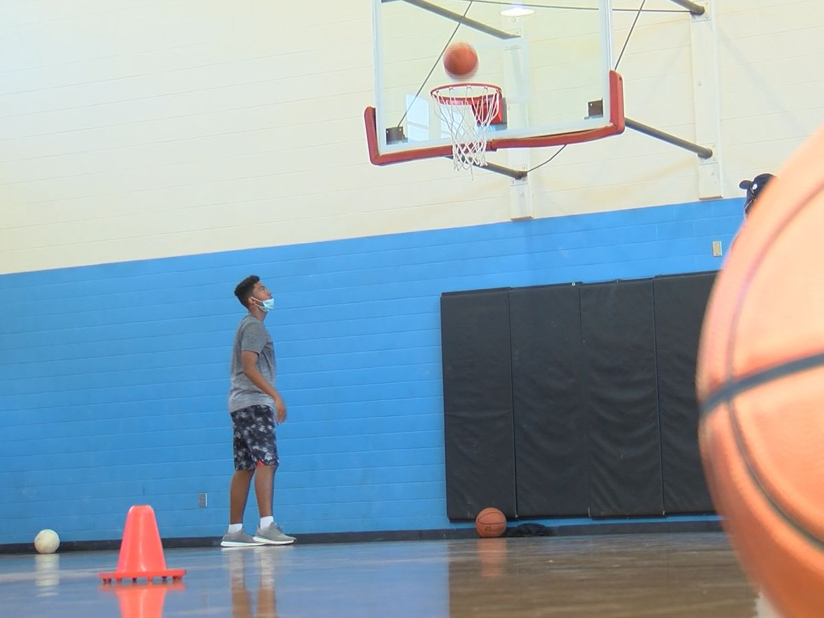 Aspiring athlete overcomes obstacles through mentorship