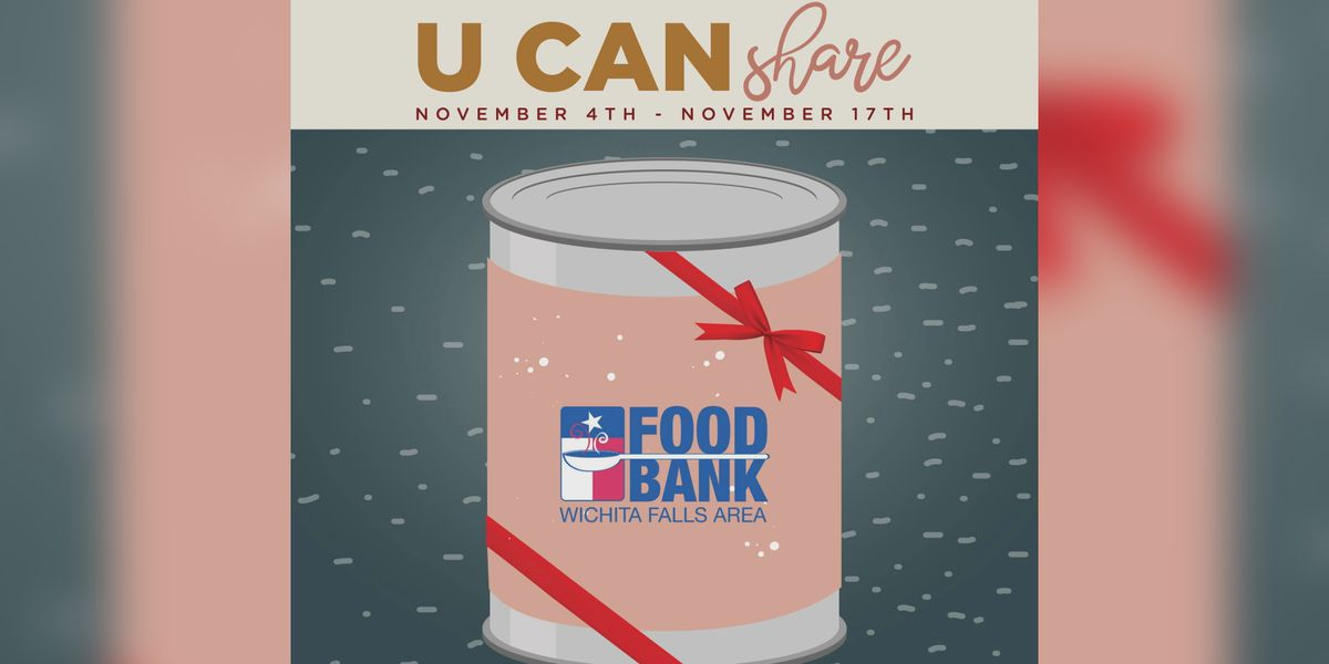 'U Can Share' food drive by WFAFB ends Nov. 17