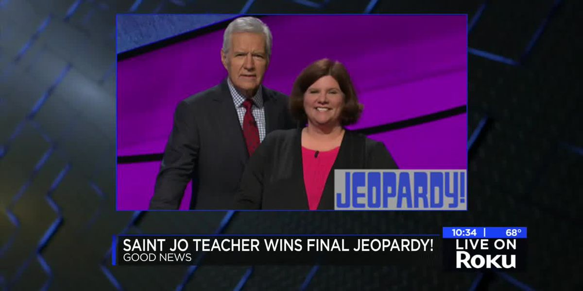 Saint Jo retired teacher featured on episode of Jeopardy