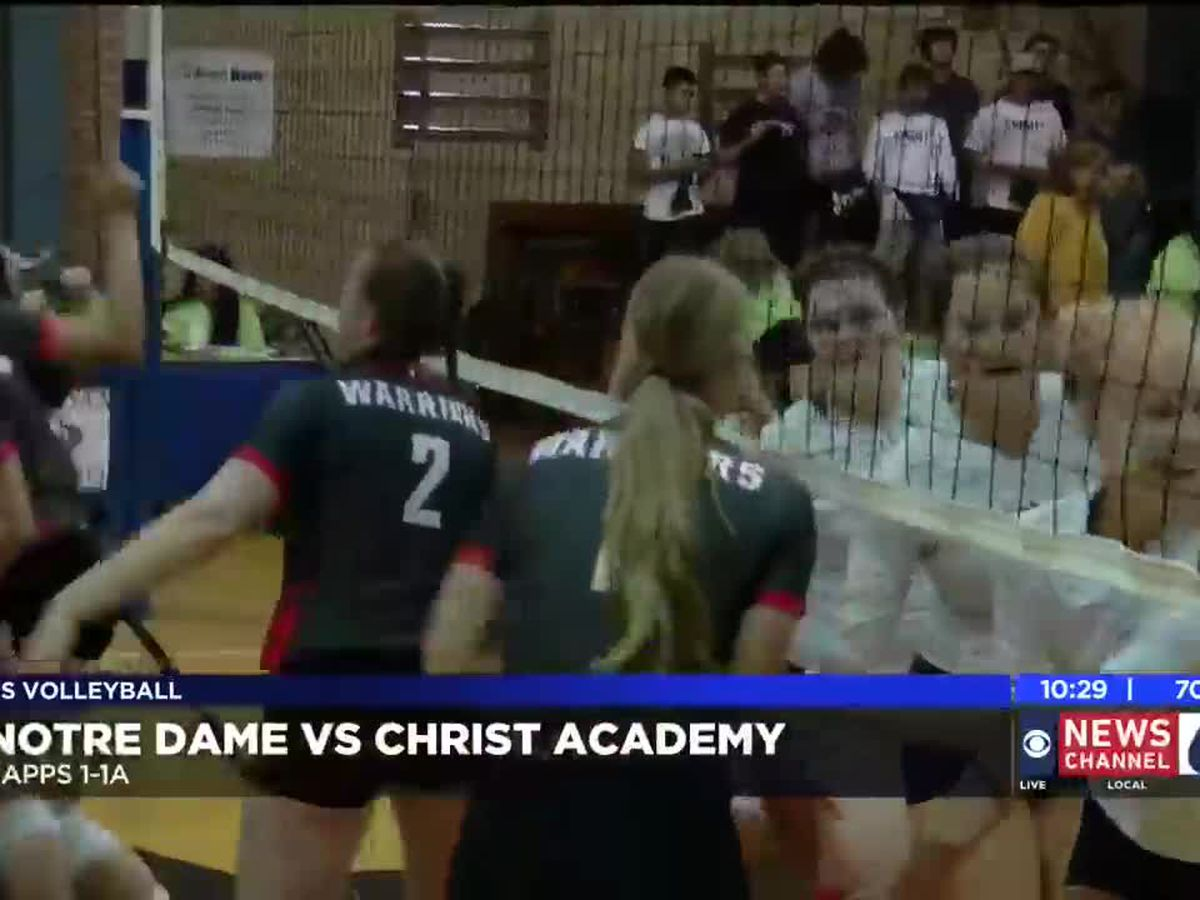 Notre Dame vs Christ Academy highlights