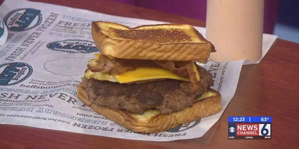 Sizzling With 6: Heff's Eggcellent Burger
