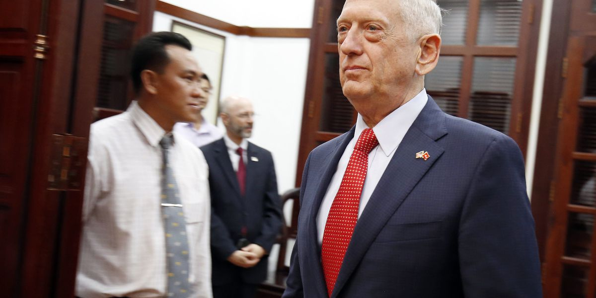 Secretary of Defense Mattis to step down in February