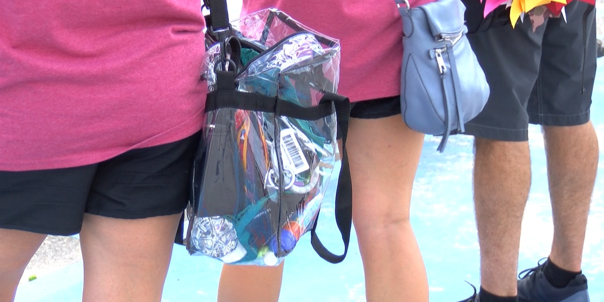 Clear bag policy goes into effect at MSU Texas home opener