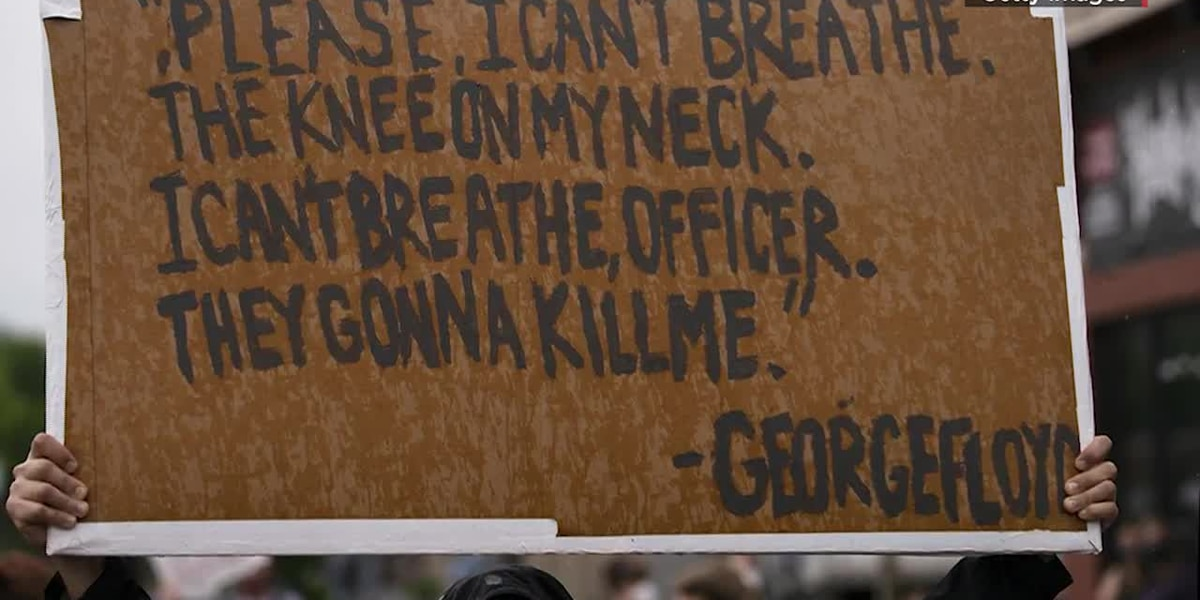 GRAPHIC: Heated protests over George Floyd's death continue