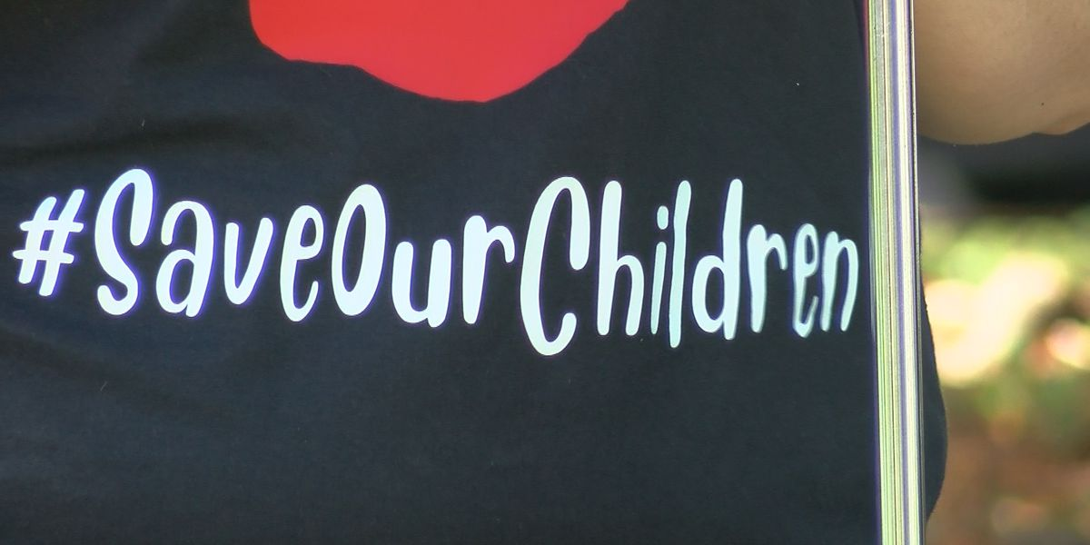 "Wichita Falls residents rally downtown to ""Save Our Children"""
