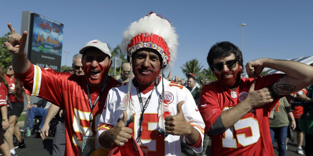 Chiefs nix headdresses, face paint to start NFL season
