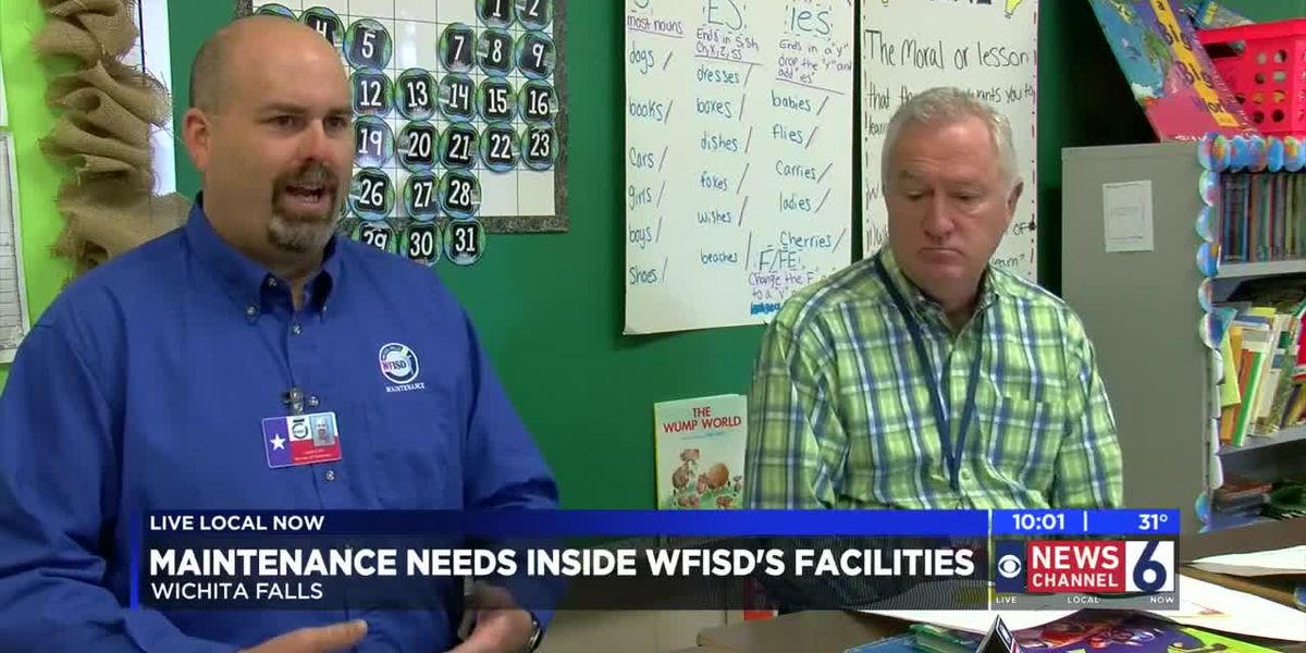 WFISD breaks down maintenance needs