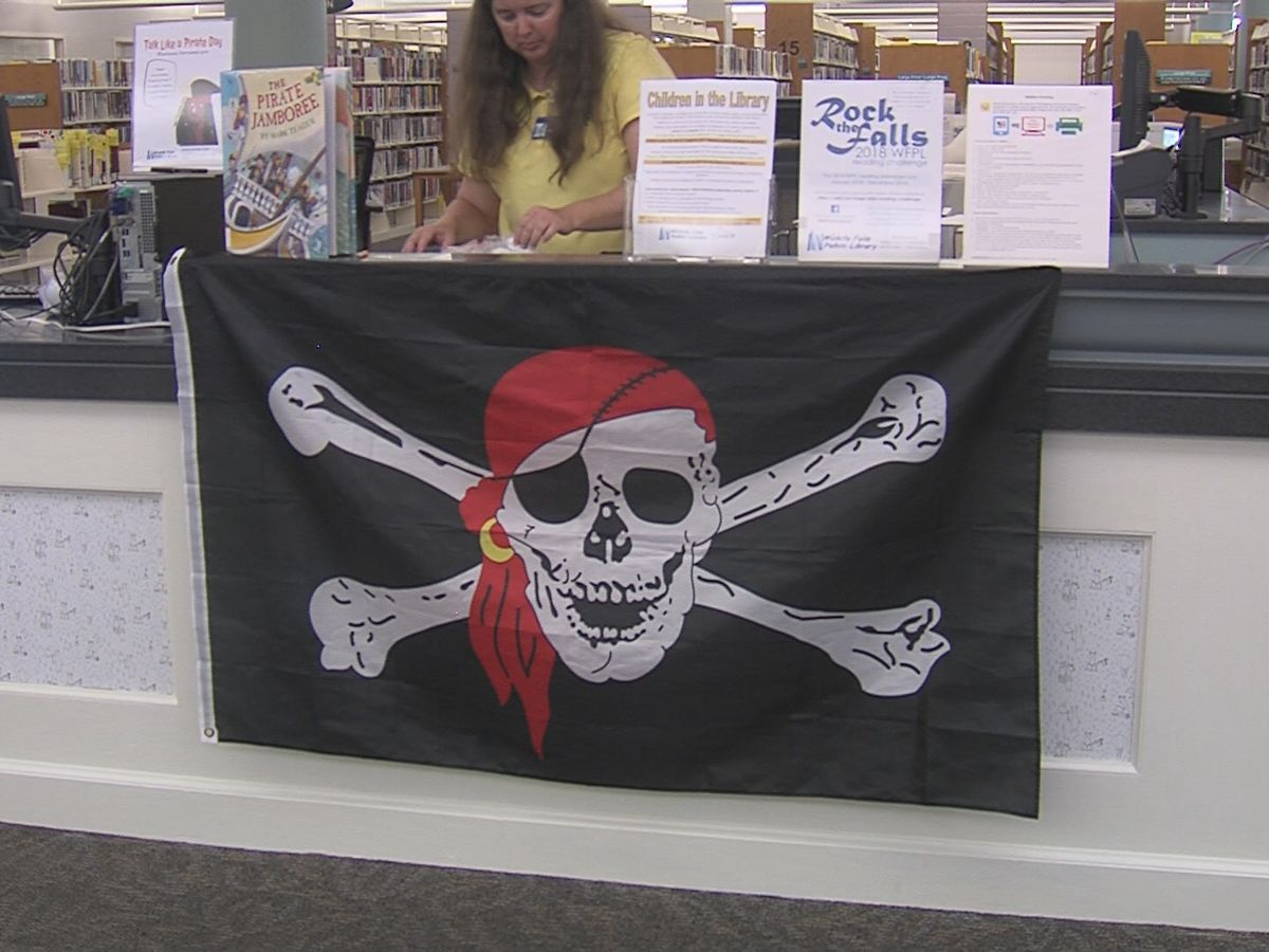 Aye maties! It's talk like a pirate day!