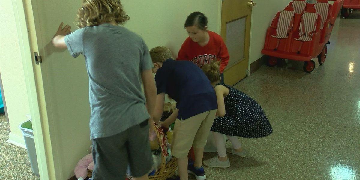 Kids at Texoma church donate to non-profit