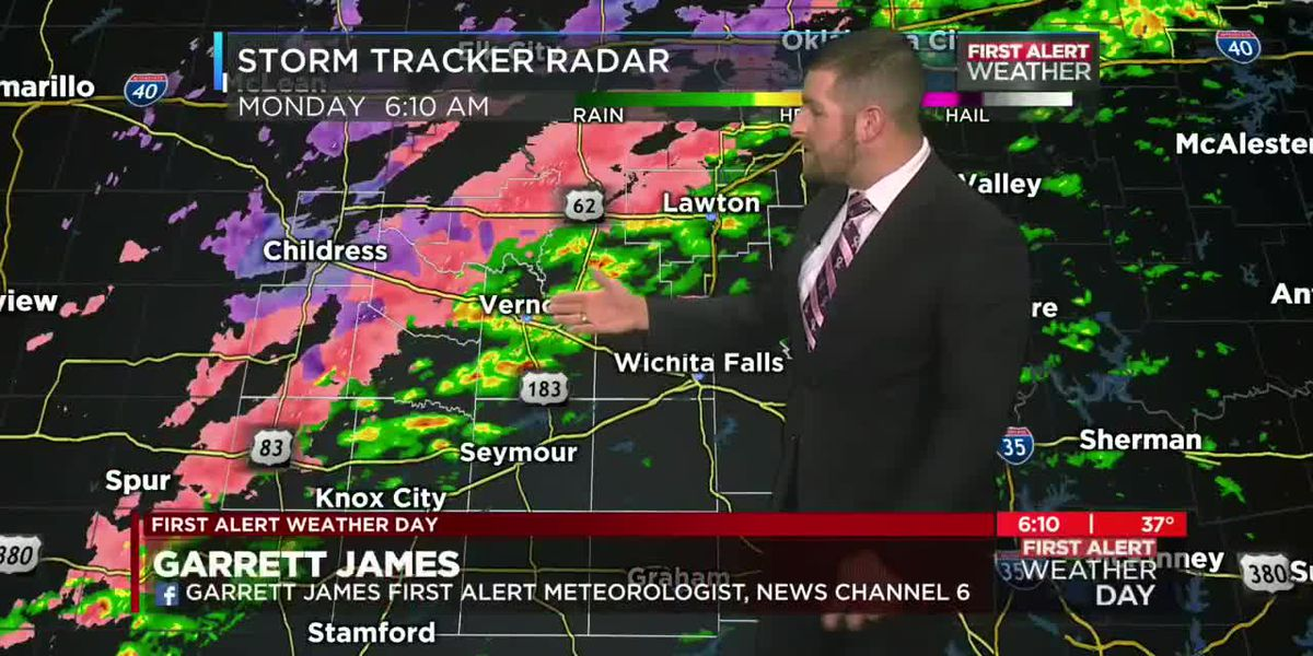 Wintry mix is likely the next couple days