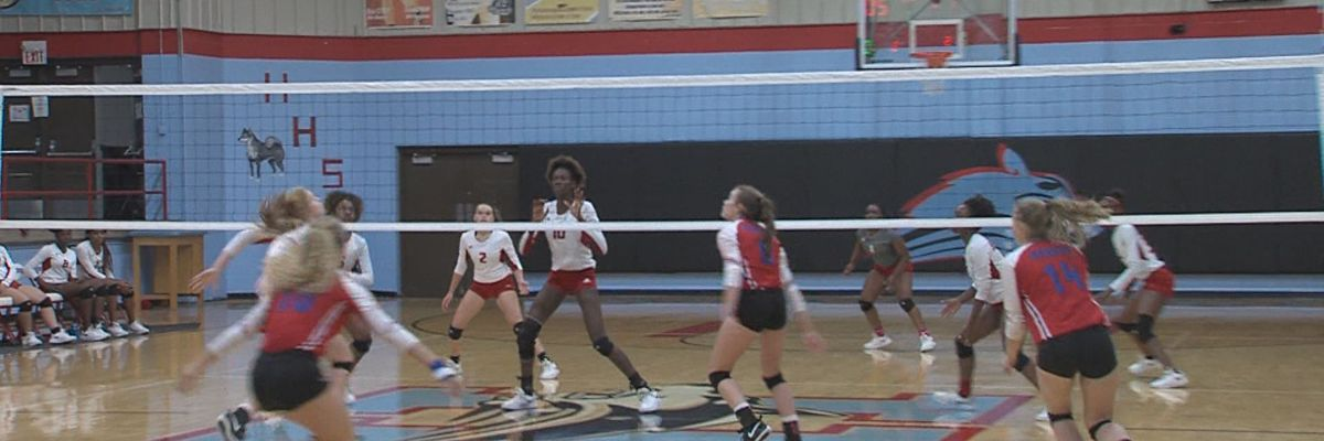 Graham stays undefeated in district, Rider defeats Aledo in 5-set thriller and Christ Academy takes down Notre dame