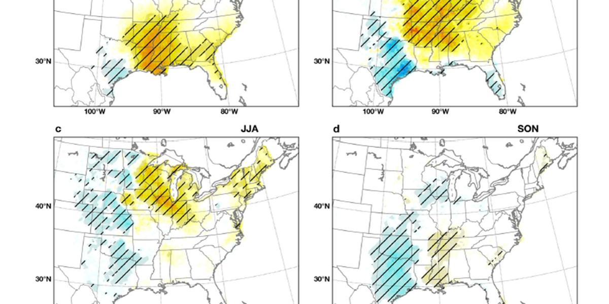 Tornado numbers trend downward in Texas