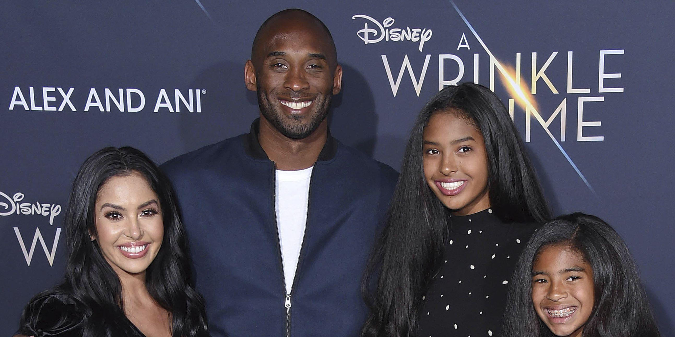 Vanessa Bryant pays tribute to husband Kobe and daughter Gianna