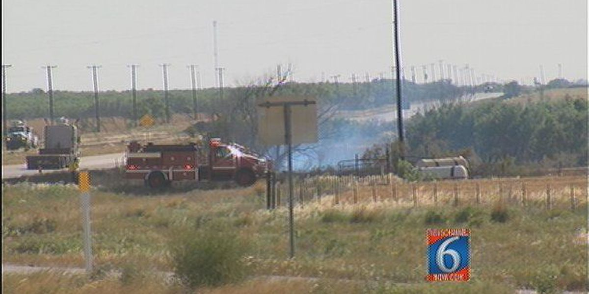 Texoma Fire Slows Down Drivers