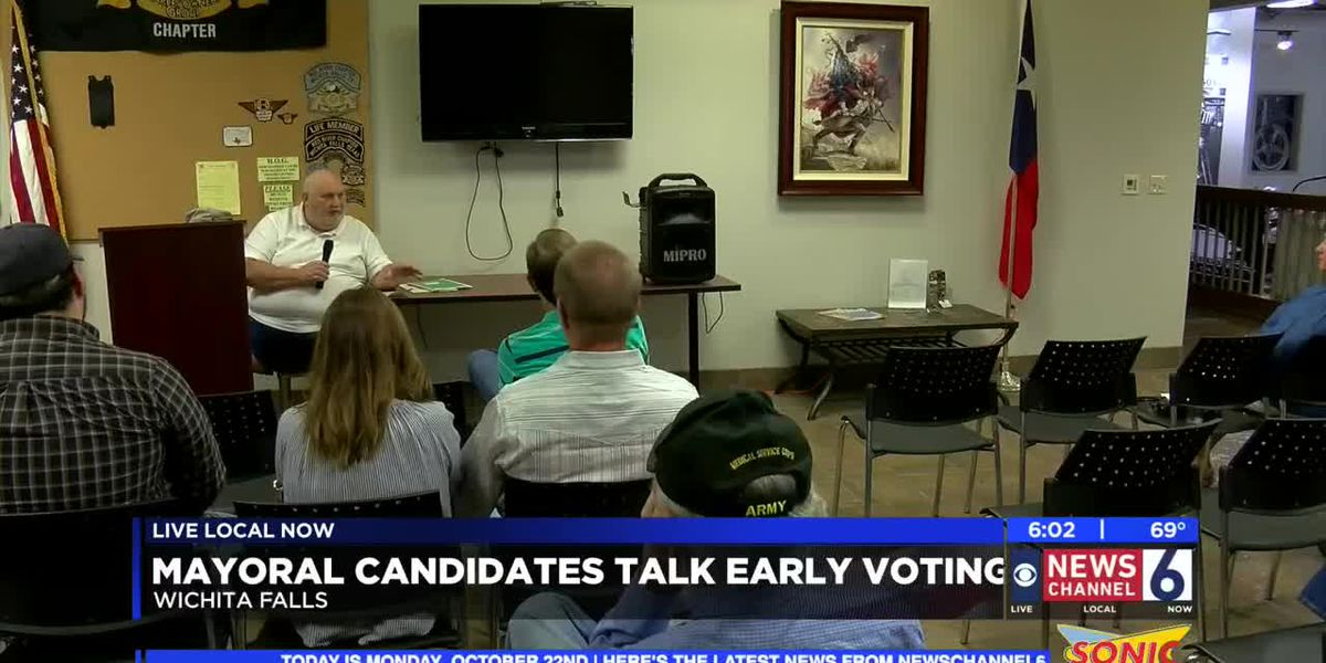 WF Mayoral candidates talk early voting