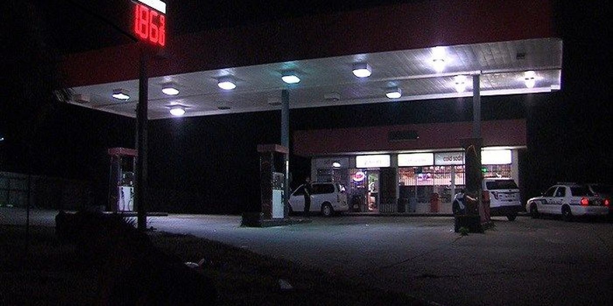 Armed robbery at local gas station