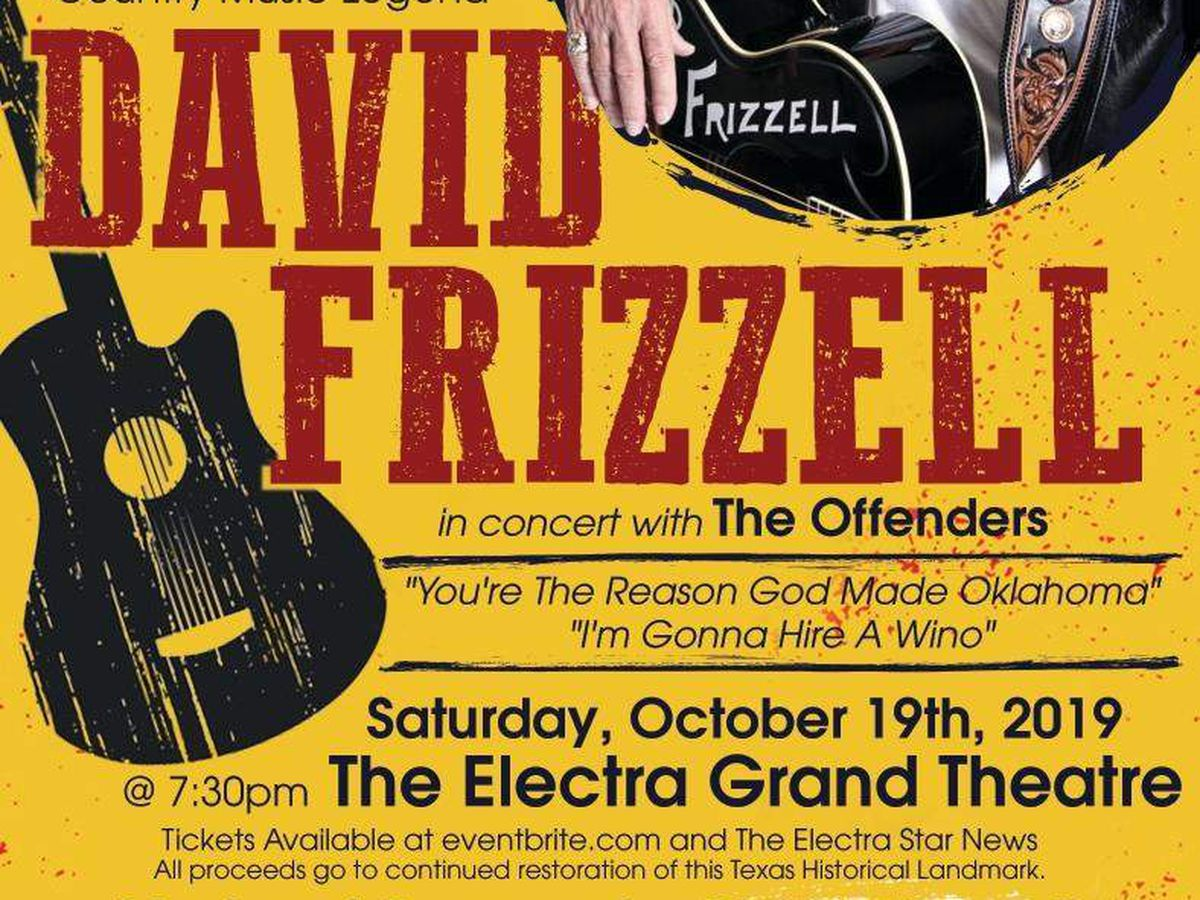 Electra Grand Theatre concert fundraiser this weekend
