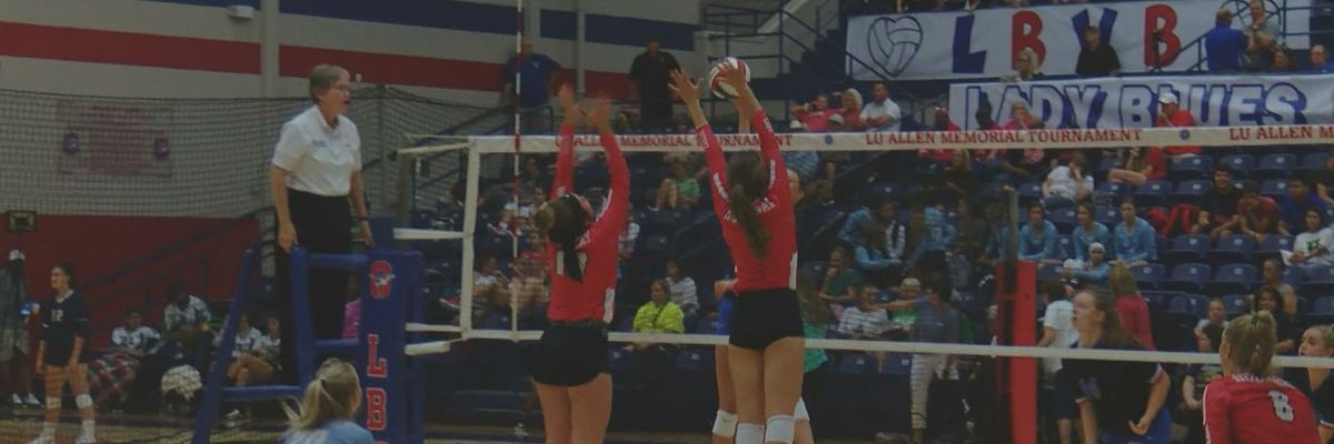 Lu Allen volleyball scores/highlights