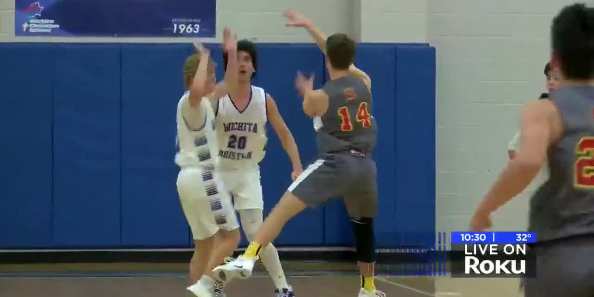 BOYS: #4 Wichita Christian vs #5 Christ Academy highlights