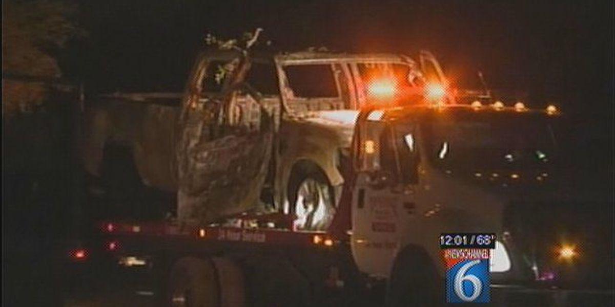 Wichita Falls Man's Body Found In Burnt Truck