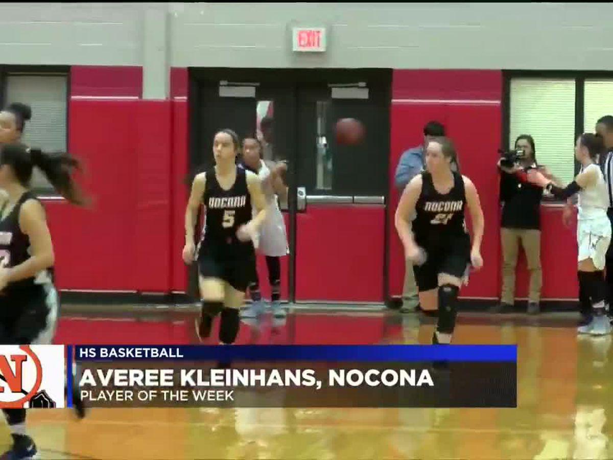 Kleinhans named HS basketball Player of the Week