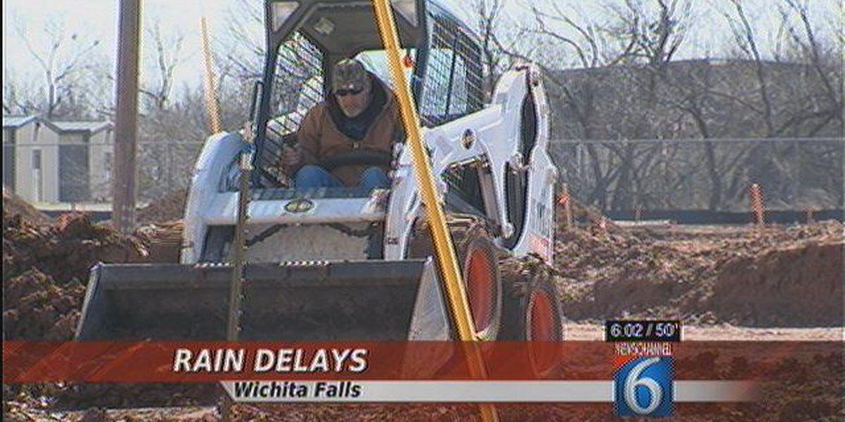 Rain Delays Construction Projects