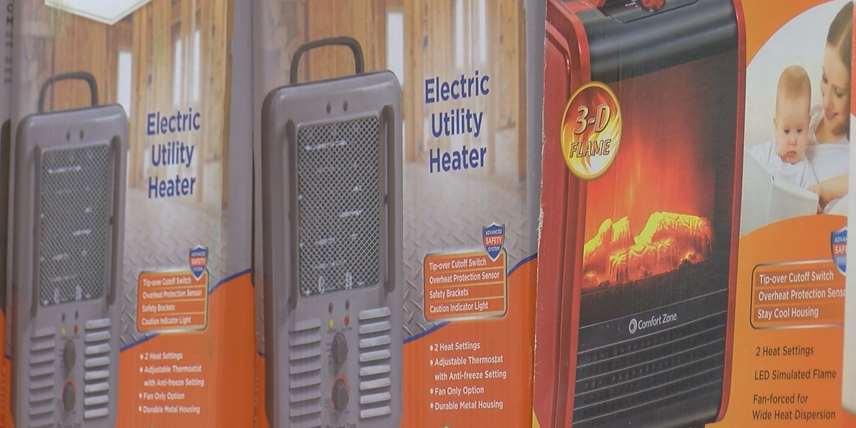 As temperatures drop the dangers of space heaters rise