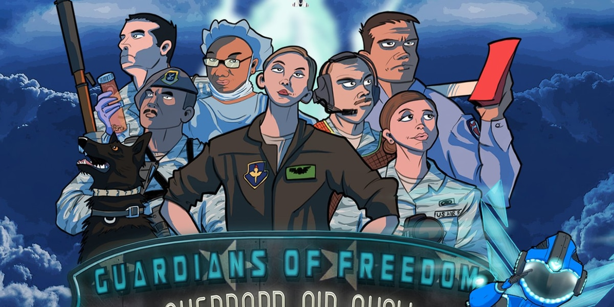 Guardians of Freedom opens to the public tomorrow