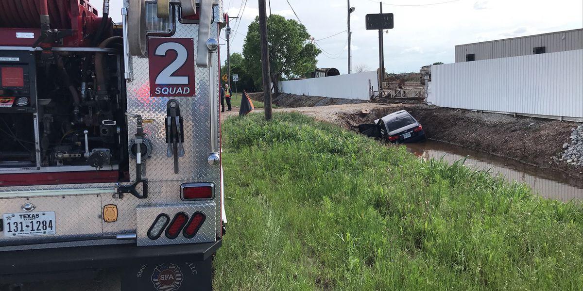 Driver taken to hospital after crash in Wichita Falls