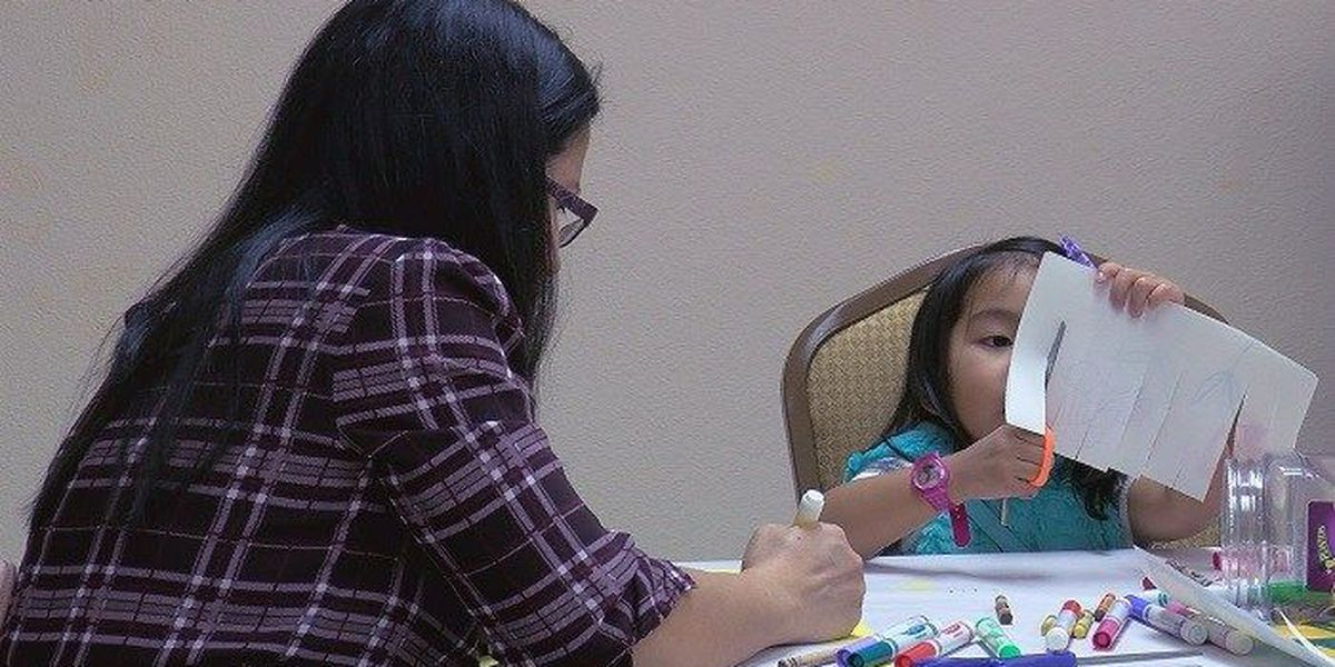 Kids get crafty at the Kemp Center for the Arts