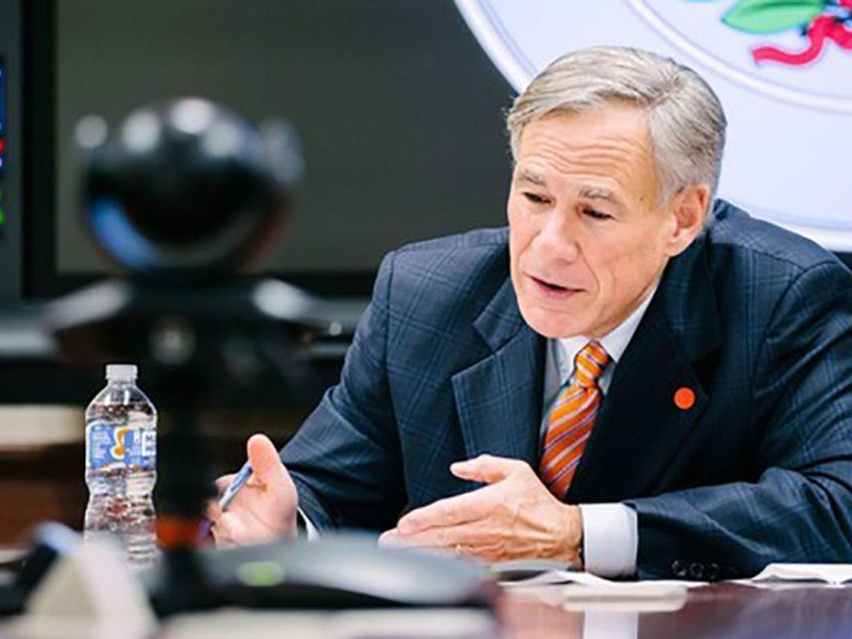 Governor Abbot releases video message for Texans