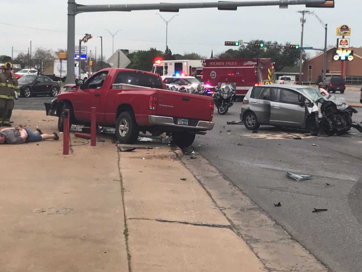 One arrested, two sent to hospital after accident on Kemp