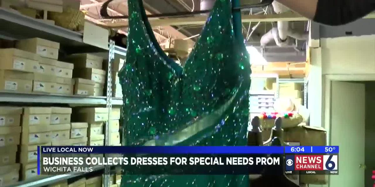 Local businesses collect prom dresses for A Night to Shine