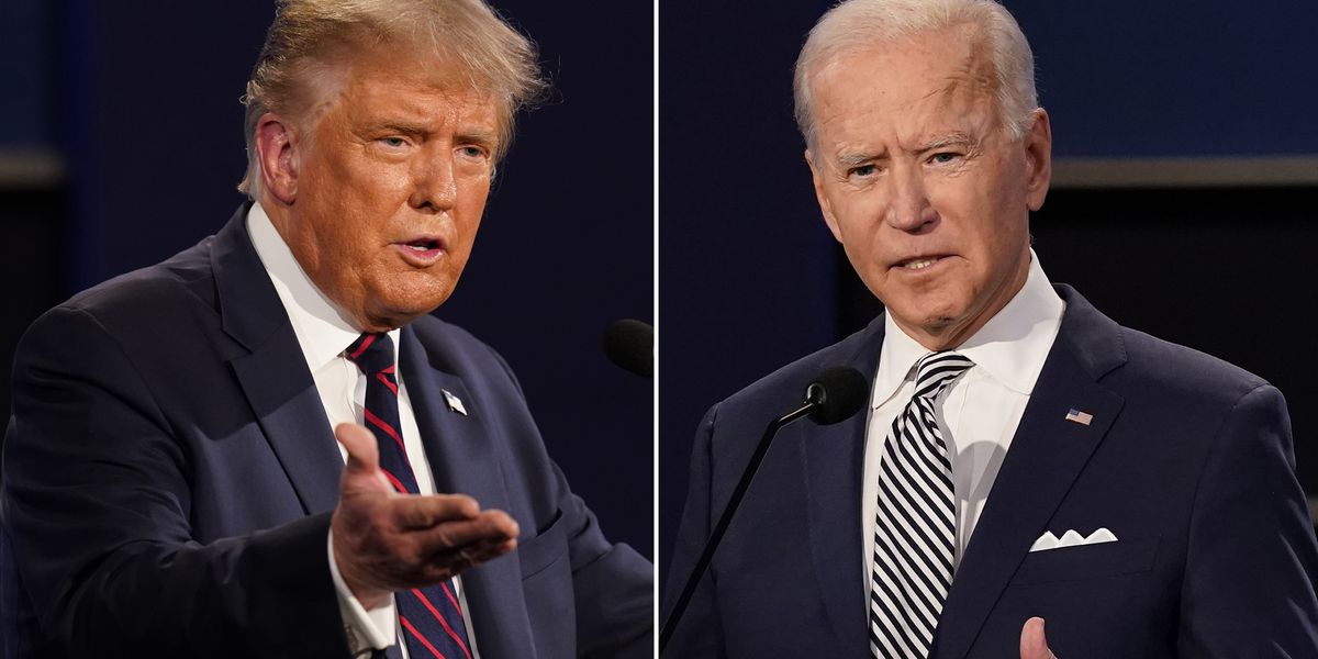 Trump pitches 'back to normal' as Biden warns of tough days