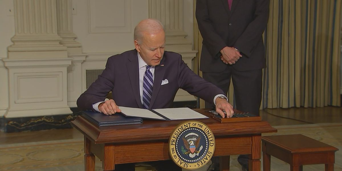 President Biden signs special health insurance enrollment order