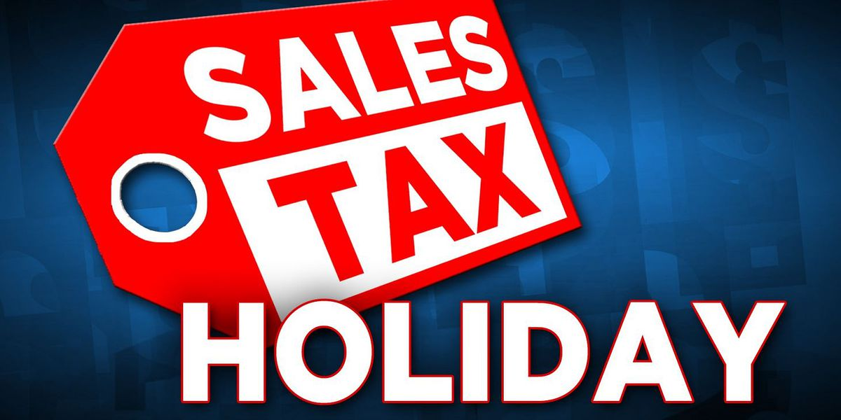 Texas sales tax holiday weekend starts Friday