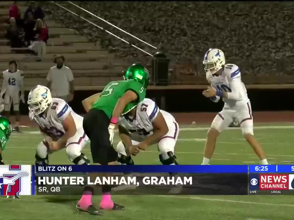 Hunter Lanham named Blitz on 6 Player of the Week