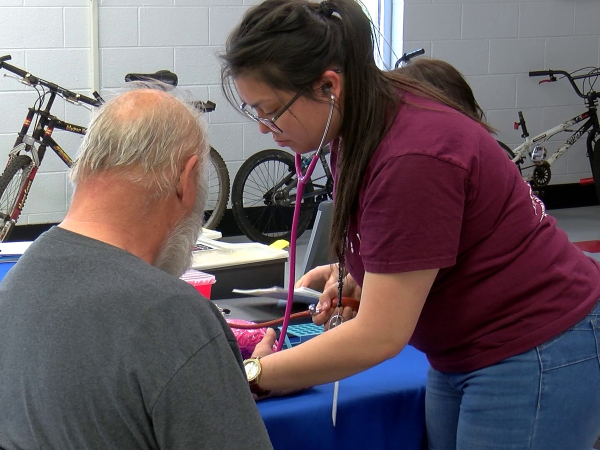 Salvation Army clients get free health screenings