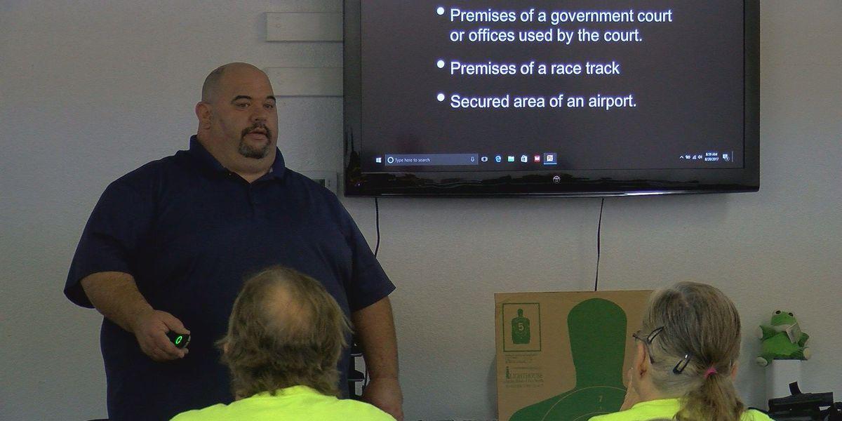 License to carry course teaches more than proper gun handling